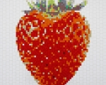 Red Strawberry 3D