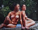VictoriaSelbach.GoldenTaras.50x60.acryliconcanvas