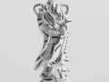 Fragile---marker-on-found-ceramic---2013---12-x-4-x-3,5---007