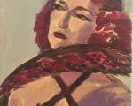 Nina-in-a-Red-Feather_9x12_550